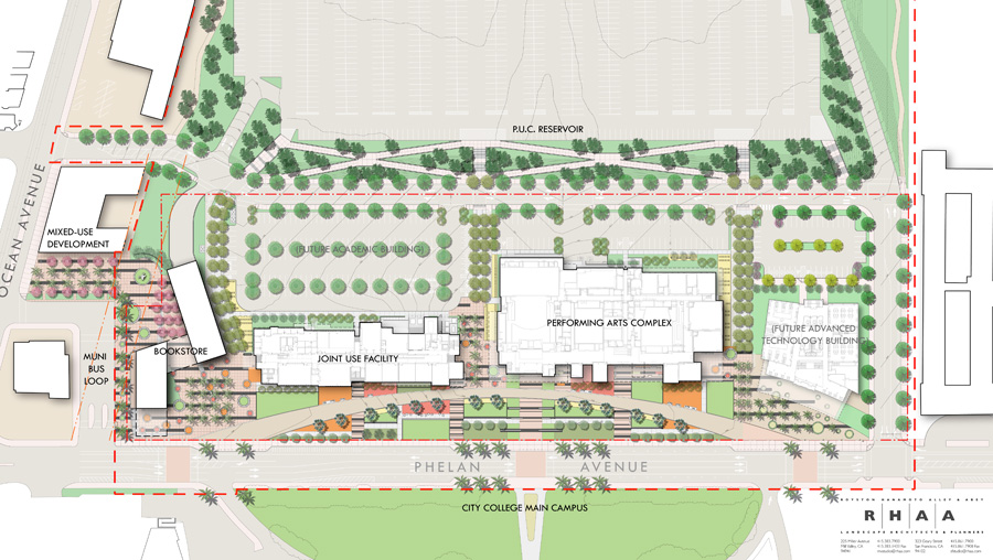 ROHA Ccsf Campus Map on